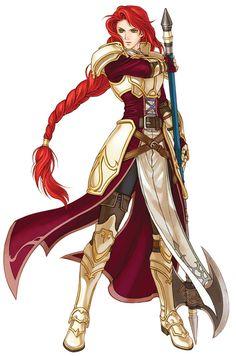 Fire Emblem: Radiant Dawn: Titania
