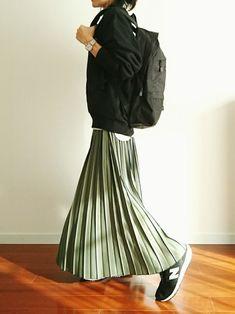 ファッション ファッション in 2020 Japanese Outfits, Japanese Fashion, Korean Fashion, Long Skirt Fashion, Abaya Fashion, Stylish Outfits, Fall Outfits, Fashion Outfits, Minimal Fashion