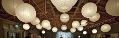 Paper lantern supply source  #weddings #patio #party