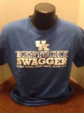 University of Kentucky Wildcats, mens, large, blue, tshirt