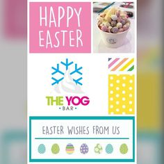 WOW! What a day!! We thank all of you who visited us today and waited in queues all the way down Market St!  We would like to take this opportunity to wish ALL our customers old and new a very Happy Easter!  We're open again tomorrow 10am-6pm and then on Easter Monday 11am-6pm! #Easter #happyeaster #froyo #frozenyogurt #theyogbar #customers #friends #wirral #hoylake #liverpool by theyogbar