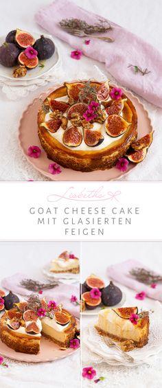Goat Cheese Cake, das klingt nach Spätsommer, Cremant und guter Laune. Während Ziege sich bei uns etwas streng anhört, ist in Frankreich Chèvre fast wie Musik in meinen Ohren. Summer Vibes, Foodblogger, Germany, Yummy Cakes, Cheesecakes, Tarts, Desserts, Ears, Glaze