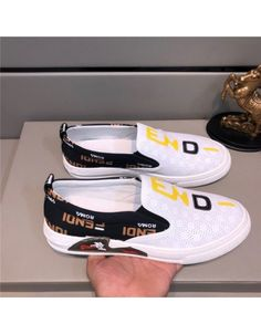 Fendi Casual Shoes For Men Fashion Slippers, Mens Fashion Shoes, Beagles, Fendi, Casual Shoes, Kicks, Vans, Slip On, Footwear