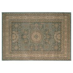 Check out this item at One Kings Lane! Ramis Rug, Light Blue