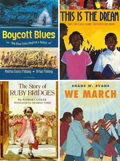 Books to help teach kids about the civil rights movement #books #kids