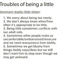 Daddy's Little Princess Daddy's Little Boy, Ddlg Little, Daddy Dom Little Girl, Daddys Girl, Ddlg Quotes, Dominant Quotes, Daddy Kitten, Daddys Little Princess, Little Things Quotes