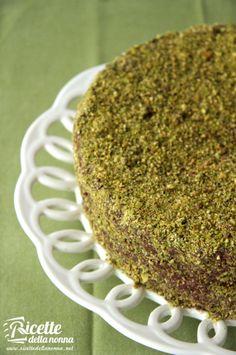 Torta al pistacchio e Nutella #recipe #ricette #foodidea #foodcreative #ricettedellanonna