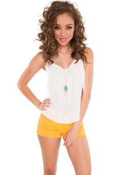 Cady Fringe Top - White #ShopPricelessSummer