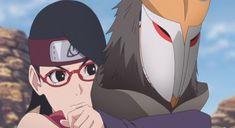 Boruto, Sarada Uchiha, Naruto Shippuden, Anime Naruto, Guerra Ninja, Grande, Nova, Base, World