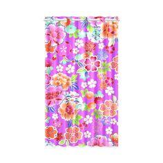 "Japanese Floral Kimono Pattern Window Curtain 52"" x 84""(One…"
