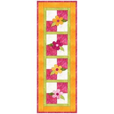 GO! Summer Flower Table Runner - Triangles - Geometric - GO! Dies - GO! Shop