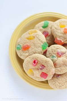 Sour Patch Kids Cookies - Sweet & Sour Cookies using one of my favorite candies!