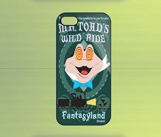 Mr Toads Wild Ride Disneyland Case For iPhone 4/4S, iPhone 5/5S/5C, Samsung Galaxy S2/S3/S4, Blackberry Z10