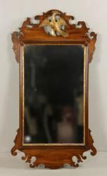 5125A - Chippendale Style Walnut Mirror On Site Auction Under Large Tent | Official Kaminski Auctions