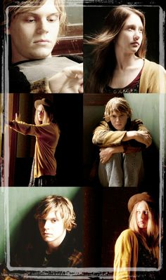 Tate and Violet Tate And Violet, American Horror Story Coven, Tv Show Music, Horror Show, Best Horrors, Great Tv Shows, Evan Peters, Best Series, Horror Stories
