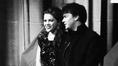 Yo se que ellos en Narnia hacian de hermanos pero son perfectos como pareja #SkandarKeynes #GeorgieHanley