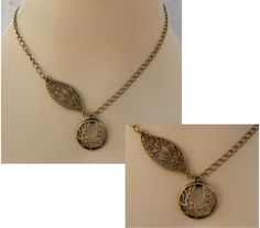 Gold Celtic Knot Tree of Life Pendant Necklace Jewelry Handmade NEW Adjustable #handmade