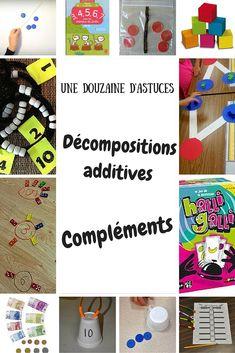 Aider les élèves à comprendre et mémoriser les décompositions additives ou compléments à 10 - Maitresseuh Math Logo, Petite Section, Math Addition, Math Numbers, Multiplication, Constellations, Teaching, Activities, Blog