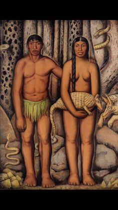 Mexican Adam and Eve- Alfredo ramos Martinez