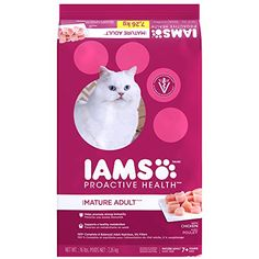 IAMS PROACTIVE HEALTH Mature Adult Dry Cat Food 16 Pounds * Read more reviews of the product by visiting the link on the image.