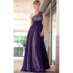 Amazing Formal Evening Dresses Designs : Boutique Dark Purple Sequins Long Winter Formal Evening Gowns
