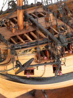 Wooden Model Boats, Old Sailing Ships, Wooden Ship, Armada, Korean War, Model Ships, Model Building, Vietnam War, Scale Models