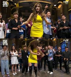 "[SNL Korea] Tiffany dance versions accelerated ""Genius"""