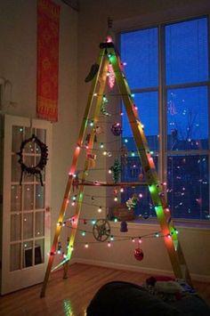 35 besten 35 sch ne alternativen zum weihnachtsbaum bilder. Black Bedroom Furniture Sets. Home Design Ideas