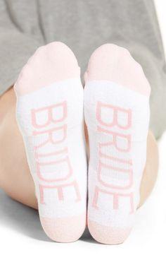 Wedding Countdown Keep the bride cozy in these lightly cushioned statement socks. Wedding Trends, Wedding Tips, Wedding Bride, Wedding Details, Wedding Day, Destination Wedding, Wedding Planning, Dream Wedding, Wedding Socks