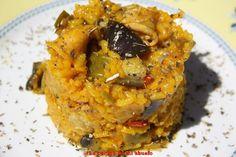 eggplant and squid rice