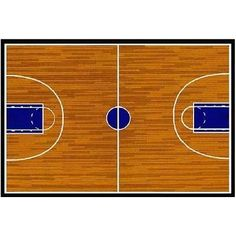 Fun Rugs childrens rugs - Supreme Basketball Court Sports Rug - x - 3958 - Plain and Simple Deals - no frills, just deals Boys Room Decor, Kids Room, Bedroom Decor, Bedroom Ideas, Nursery Ideas, Basketball Bedroom, Basketball Court, Louisville Basketball, Basketball Birthday