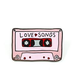 Love Songs Pin