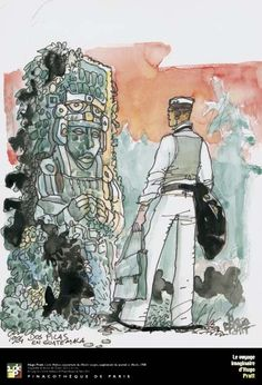 Ah... Hugo Pratt watercolors...