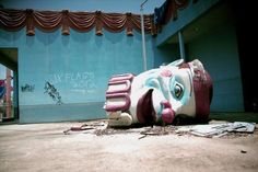 45 Pictures of Super Creepy Abandoned Amusement Parks