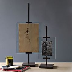 My latest West Elm purchase for TTL. Even better that they are on sale :) Metal Easel Adjustable Floating Frames #WestElm