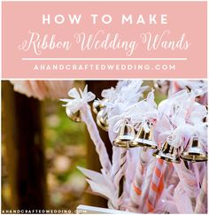 These DIY Whimsical Wedding Wands will ensure that you have the magical sendoff you deserve on your special day. They're a great wedding confetti alternative that provides all of the fun with none of the mess. Diy Wedding Wands, Wedding Crafts, Wedding Favors, Wedding Ceremony, Ribbon Wedding, Reception, Wedding Send Off, Wedding News, Our Wedding