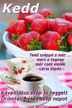 Fruit Salad, Mango, Strawberry, Breakfast, Manga, Morning Coffee, Fruit Salads, Strawberry Fruit, Strawberries