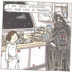 I am totally going to tell my children this with a Darth Vaderish voice someday. haha