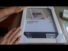 Money saving Tip, Picture frame stamp press...Say what? - YouTube