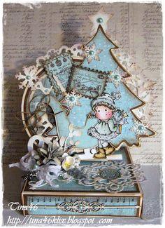 Tina´s Magnoliablog: MAG- Christmas-Box,Tilda by Magnolia stamps - Christmas Tilda