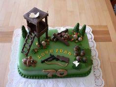 dort pro myslivce - Hledat Googlem Hunting Birthday Cakes, Patisserie Design, Camo Cakes, Camo Party, Hunting Party, Cake Tutorial, Party Cakes, Amazing Cakes, Boy Birthday