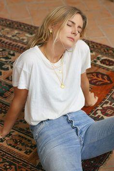 Lucy Williams X Missoma Fashion Me Now, Look Fashion, Womens Fashion, Fashion Check, Fashion Rings, Harem Jeans, Denim Leggings, Fitz Huxley, Fashion Editorials