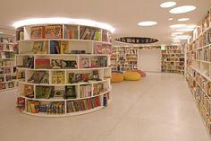 Dezeen » Blog Archive » Livraria de Vila by Isay Weinfeld Arquitecto