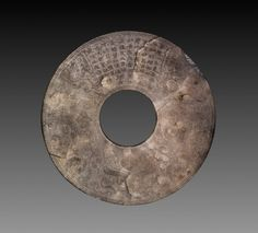 Disc (Bi), 1736-1795 China, Qing dynasty (1644-1912), Qianlong reign (1736-1795)