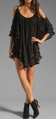 Flowy boho dress
