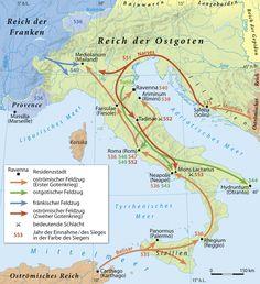 535-553 Ostgoten vs.Byzanz in Italien