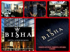 The Bisha Hotel and Residences offers the most elegant and Luxurious condo hotels in Toronto.   It has the perfect location at 56 BLUE JAYS WAY, TORONTO, ONTARIO, CANADA.  Stunning residential suites with superb amenities await you. You will have everything within reach including a Resto and a 24 hour cafe' and bar.  What are you waiting for? Visit our website for more inormation. http://www.vipcondobrokers.com/ON/toronto/na/1913938-MLS-56-Blue-Jays-way-