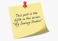 Second Chances by Susan: My Sewing Studio:  The Desk