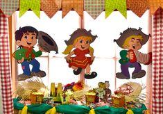 Decoração em EVA para festa junina – dicas, fotos