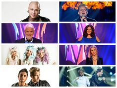 eurovision finalists youtube